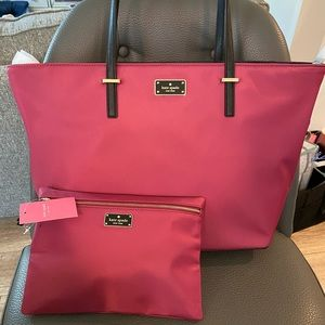 Kate Spade Wilson Road Tote and Wallet NWT